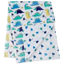 Night Cuddles Baby Boys Happy Dinosaurs Baby Blanket