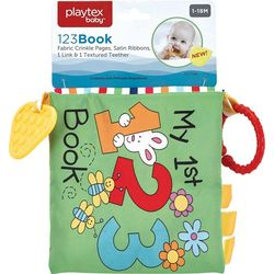 Playtex Baby My First 123 Crinkle Book