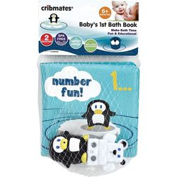 Cribmates Baby's 1st Bath Book Number Fun