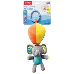 Playtex Baby Elephant Pull Down Wiggler Toy