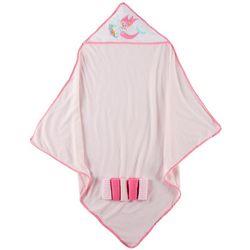 Cribmates Baby Girls 6-pc. Mermaid Towel & Washcloth Set