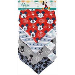 Disney Baby Boys Mickey Mouse 4-pk. Bandana Bibs