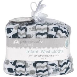 Petite L'Amour Baby Boys 24-pk. Nautical Washcloths