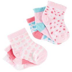 Petite L'Amour Baby Girl 6-pk. Heart Socks Set