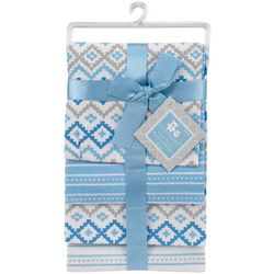 Cribmates Baby Boys 4-pk. Geometric Receiving Blankets
