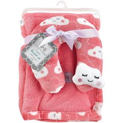 Cribmates Baby Girls 2-pc. Cloud Blanket & Support Pillow