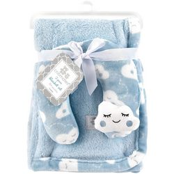 Cribmates Baby Boys 2-pc. Cloud Blanket & Support Pillow Set