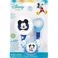 Disney Baby Mickey Mouse Pacifier & Holder