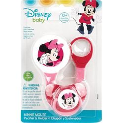 Disney Baby Girl Mickey Mouse Pacifier & Holder