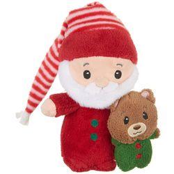 First & Main Christmas Santa PJ Bear Plush Toy