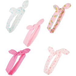 Ava Olivia Baby Girls 5-pk. Bow Headbands Set
