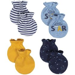 Just Born Baby Boys 4-pk. Little Star Mittens