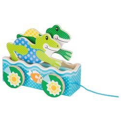 Melissa & Doug Friendly Frogs Pull Toy