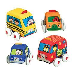 Melissa & Doug 4-pk. K's Kids Pull-Back Vehicles