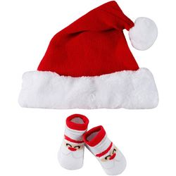 Rising Star Baby 2-pc. Santa Hat & Booties