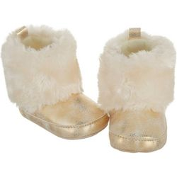 Rising Star Baby Girls Faux Fur Boots