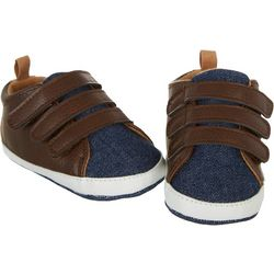 Rising Star Baby Boys Strappy Sneakers