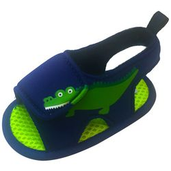 ABG Baby Boys Alligator Water Sandals