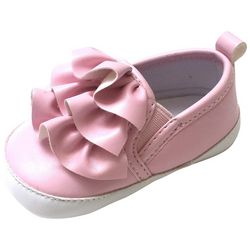 ABG Baby Girls Ruffle Pull-On Shoes