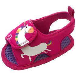 ABG Baby Girls Unicorn Water Sandals