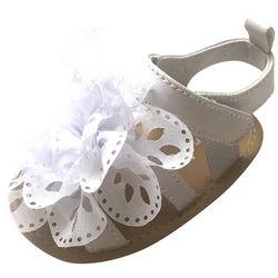 91995cc44ac5 ABG Baby Girls Chiffon Flower Sandals
