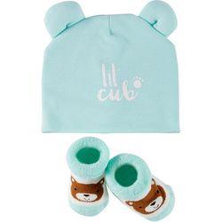 Rising Star Baby Boys 2-pc. Lil' Cub Hat