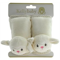 Kelly Baby Baby 2-pc. Lamb Seat Belt Covers