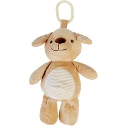 Kelly Baby Baby Boy Dog Plush Rattle Clip-On Pram Toy