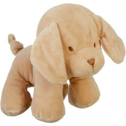 Kelly Baby Baby Boys Dog Plush Posable Rattle Toy