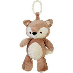 Kelly Baby Baby Boy Fox Plush Rattle Clip-On Pram Toy