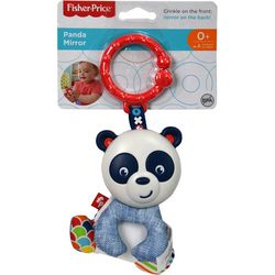 Fisher-Price Crinkle Sound Panda Mirror