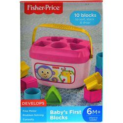 Fisher-Price 10-pc. Baby's First Blocks Set