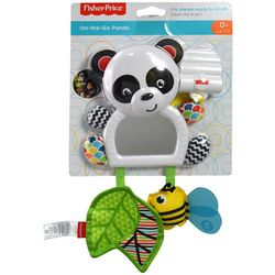 Fisher-Price On-the-Go Panda Rattle