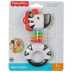 Fisher-Price Zebra Rattle Friend