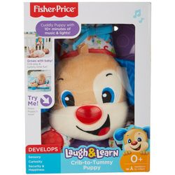 Fisher-Price Laugh & Learn Crib-to-Tummy Puppy Toy