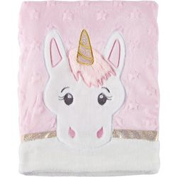 Buttons & Stitches Baby Girls Sparkly Unicorn Baby
