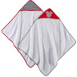 Disney Mickey Mouse Baby Boys 2-pk. Hooded Towel Set