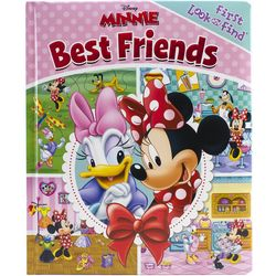 Disney Minnie Mouse Best Friends Look And Find Book