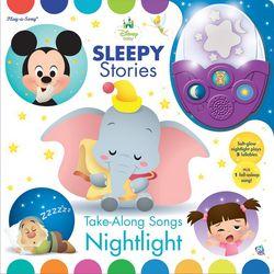 Disney Sleepy Stories & Take-Along Songs Nightlight Set