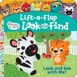 Baby Einstein Lift-a-Flap Look and Find Book