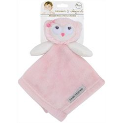 Blankets and Beyond Baby Girls Plush Owl Nunu