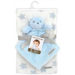Blankets and Beyond Baby Boys 2-pc. Blanket & Bear Nunu Set