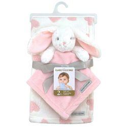 Blankets and Beyond Baby Girls 2-pc. Blanket & Bunny Nunu