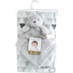 Blankets and Beyond Baby Boys 2-pc. Blanket & Bear Nunu Set