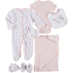 Mini Muffin Baby Girls 9-pc. Little Sister Layette Set