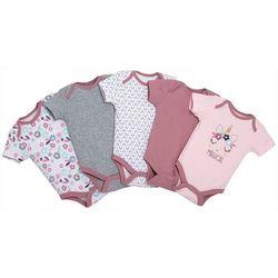 Chick Pea Baby Girls 5-pk. Magical Unicorn Bodysuits