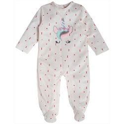 Baby Gear Baby Girls Unicorn Snug Fit Footie Pajamas