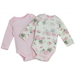 Kyle & Deena Baby Girls 2-pk. Floral Lace Bodysuit Set
