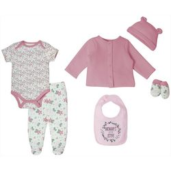 Kyle & Deena Baby Girls 6-pk. Floral Layette Set