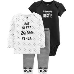 Carters Baby Girls 3-pc. Mommy Is My Bestie Layette Set